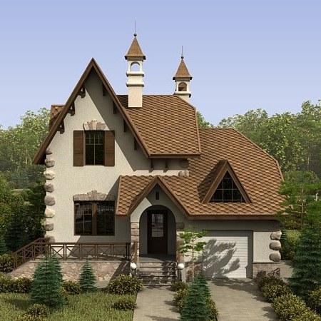 """Завораживающая уютная и стильная загородная резиденция 218 кв.м. по проекту """"Традиция"""""""